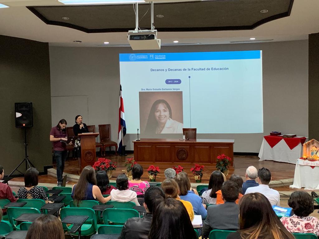 Decanatura presentó su Informe de Labores 2019